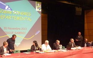 CONGRES DEPARTEMENTAL 2013